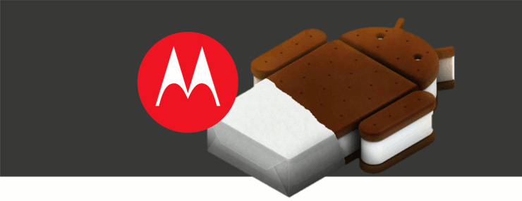 motorola devices to get ics