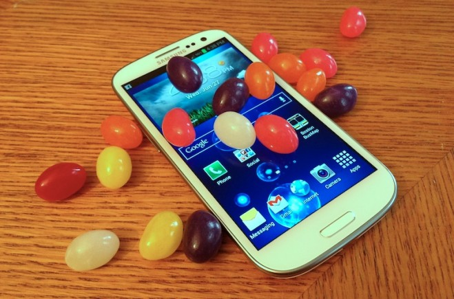 SGS3 jelly bean