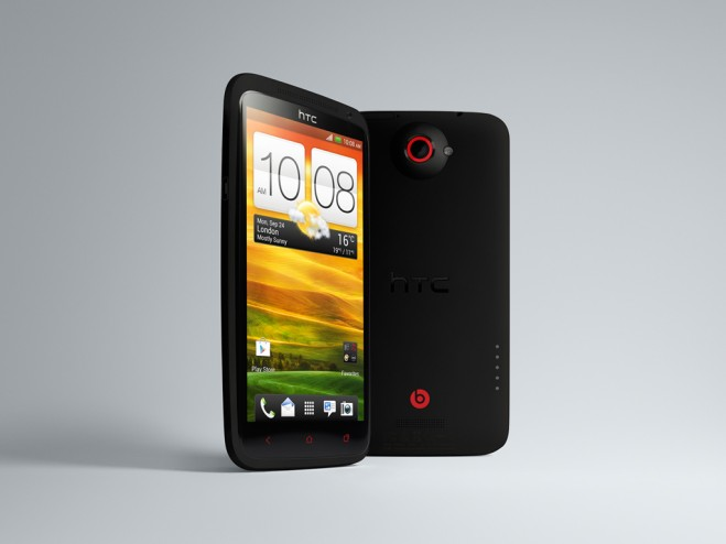 HTC One X+ front-back