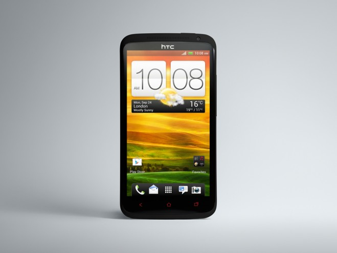 HTC One X + front