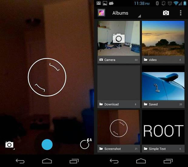 Android 4.2 Camera Gallery