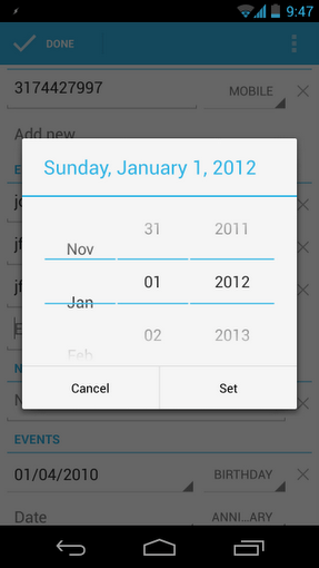 Android 4.2 December