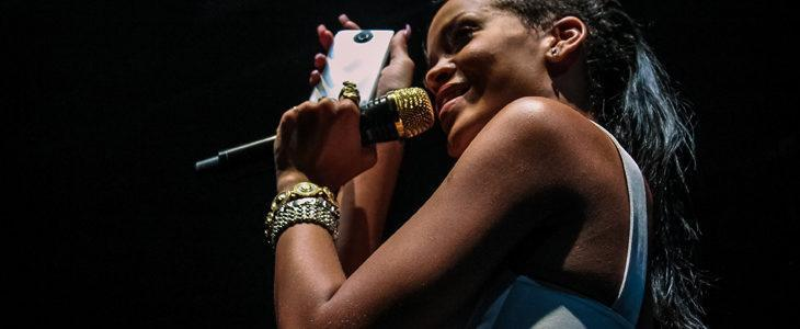 Rihanna and HTC