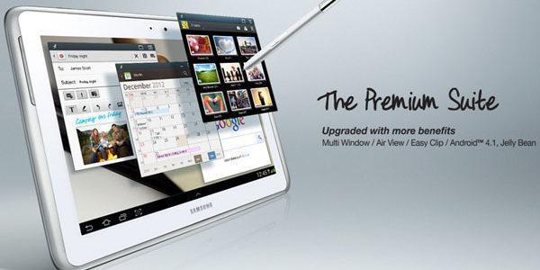 Samsung najavio Premium Suite update za Galaxy Note 10.1