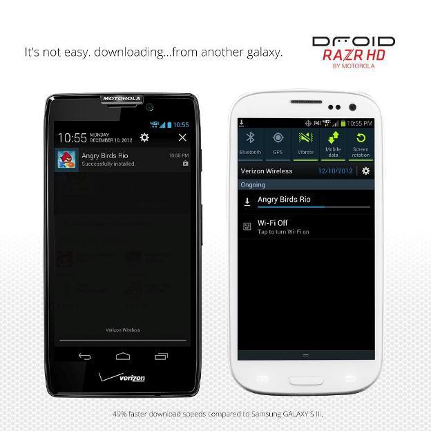 Motorola Attacks Samsung via Facebook