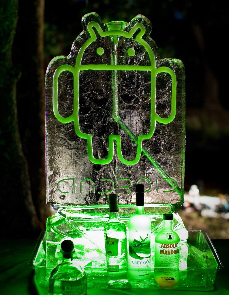 Android in ice