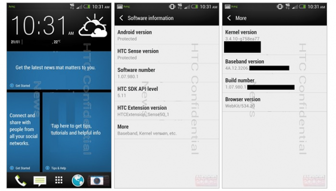 HTC Sense 5.0 leak