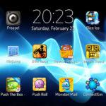 Xperia T interface