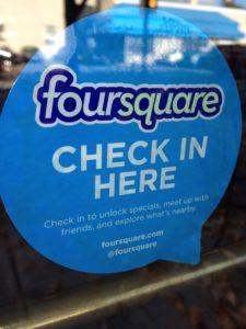 Foursquare Sticker