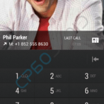 HTC One Dialer