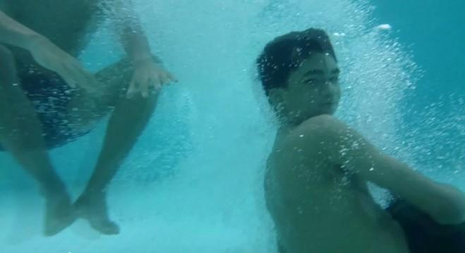 xperia z pod vodom