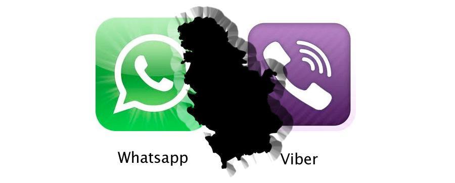 viber i whatsapp srbija