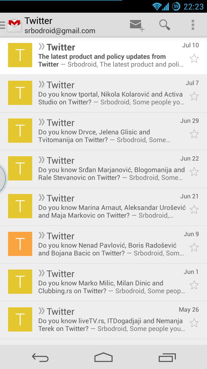 Paranoid Gmail