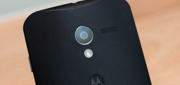 Moto X back