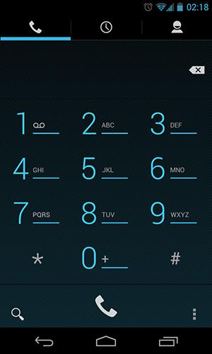 Android 4.3 dialer