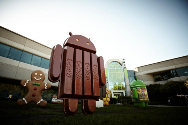 Android 44 Kit Kat Official Statue