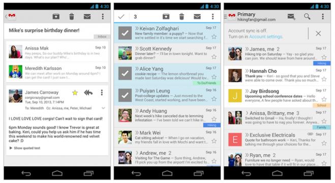 Gmail Update (Cards UI Conversaions)