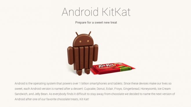Kit Kat Android