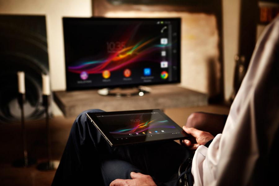 Xperia Tablet Z Living Room
