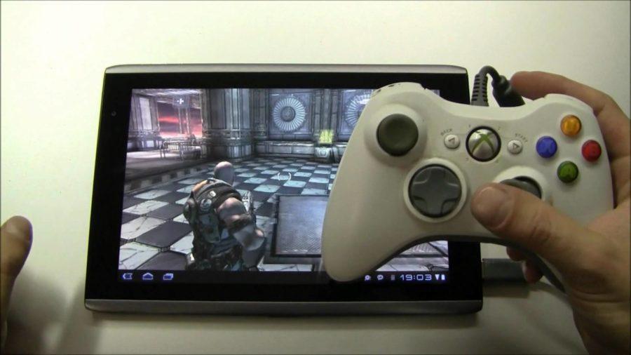 Android tablet transformisan u gejming konzolu