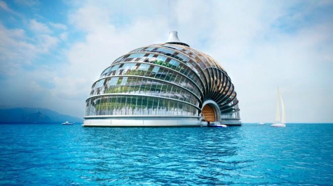 """Hotelprojekt """"Ark"""" / Russland"""
