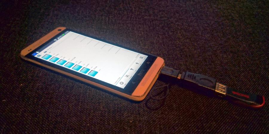 HTC One OTG