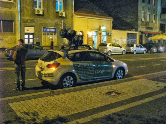 Google Maps Street View car in Serbia