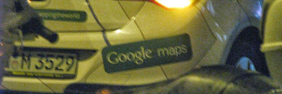 Google Maps Street View car in Serbia