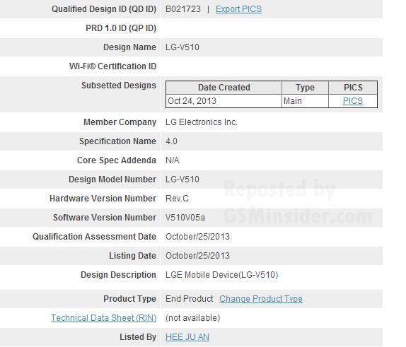 Nexus 8 sertifikat
