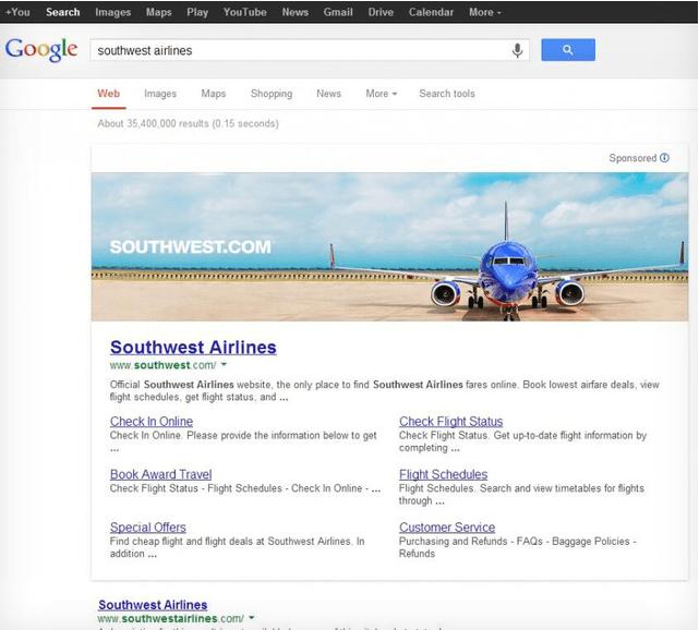 Ogromne Google reklame