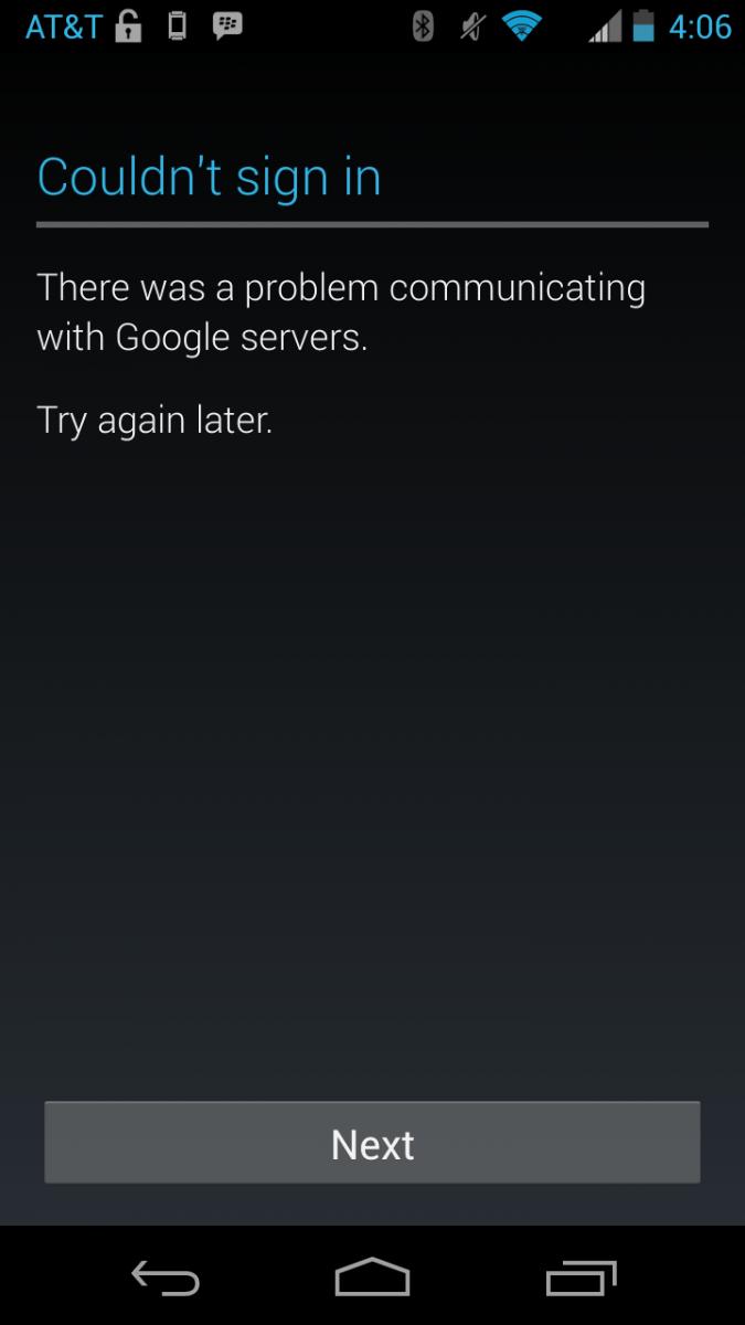 problemi sa Google serverima
