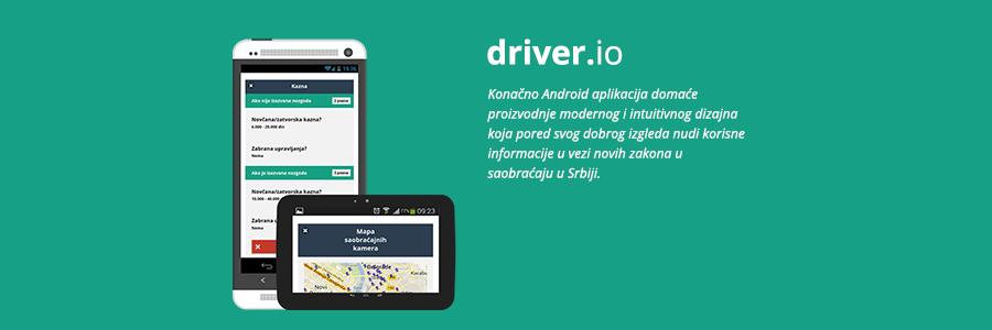 Driver.io – svi saobraćajni propisi na jednom lepom mestu