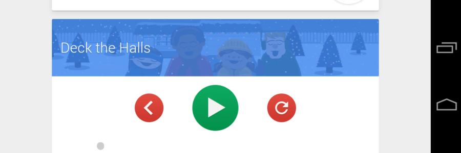 Google Now božićne karaoke