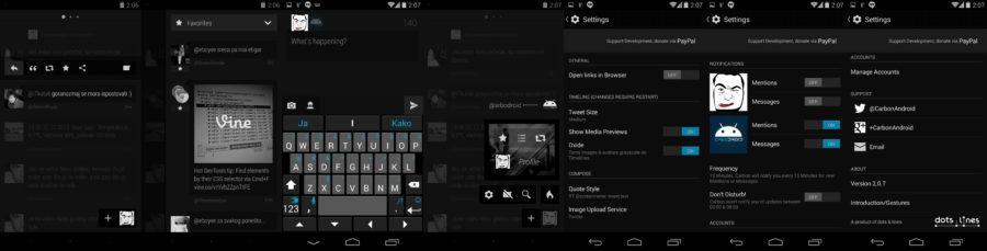 Carbon Screenshots