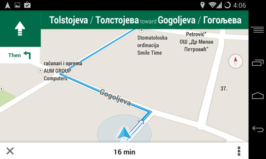 Google Mape Srbija Navigacija