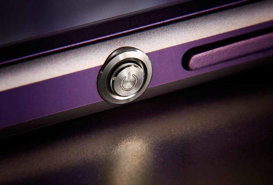 Sony Xperia Z Power button