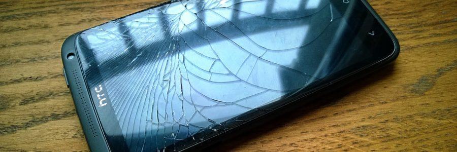 HTC One X razbijen ekran