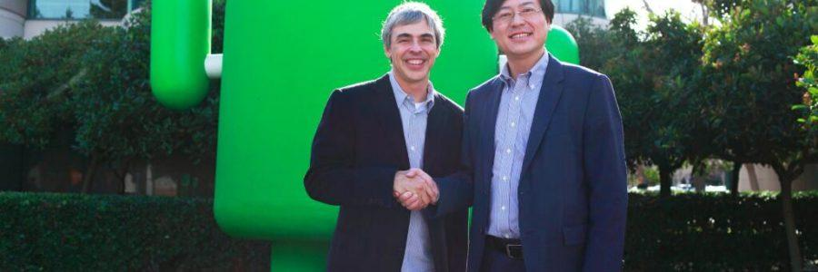Google Lenovo sporazum
