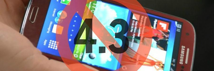 Samsung S3 Android 4.3