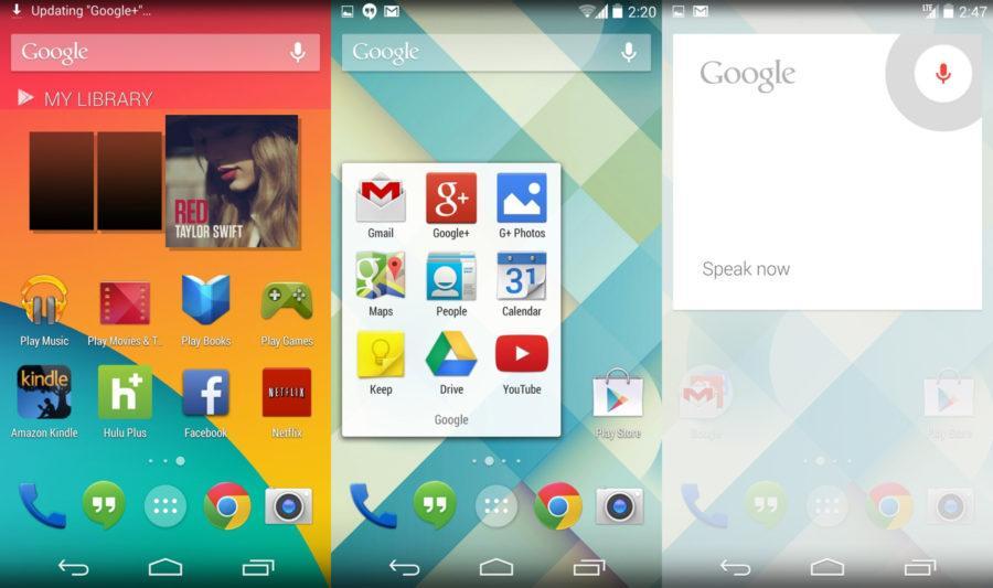 Android Kit Kat Screenshots