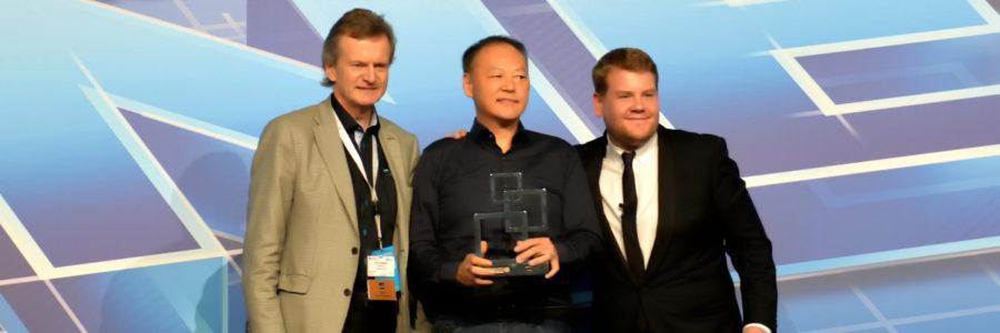 Global Mobile Award for Best Smartphone at the Mobile World Congress
