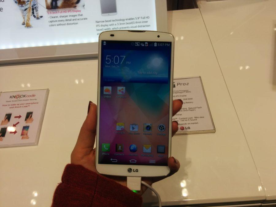 LG G Pro 2 fablet