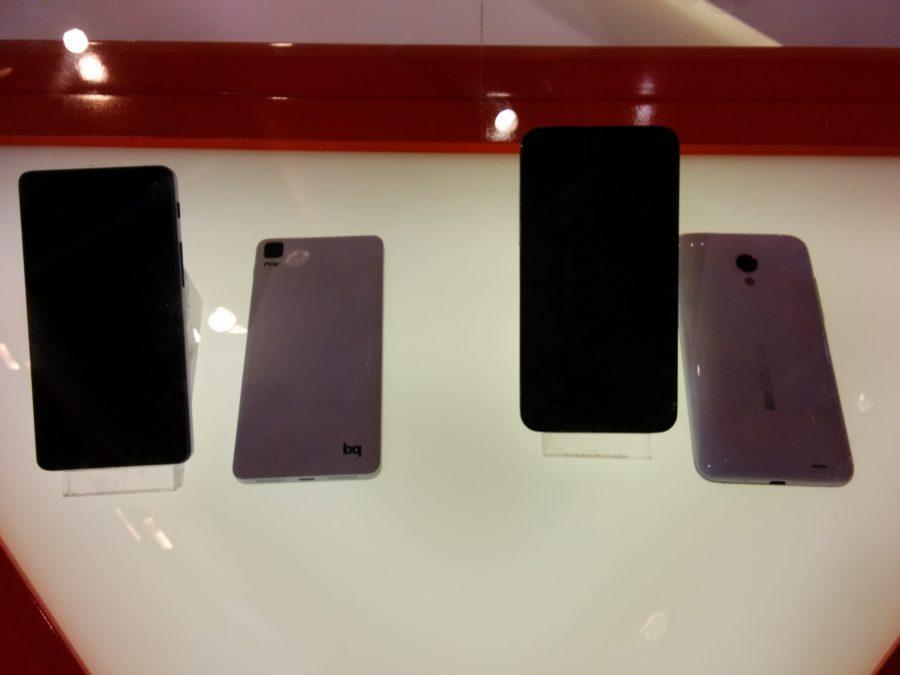 bq i xiamoi ubuntu telefoni