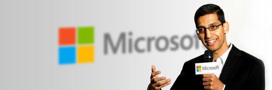Sundar Pichai Microsoft