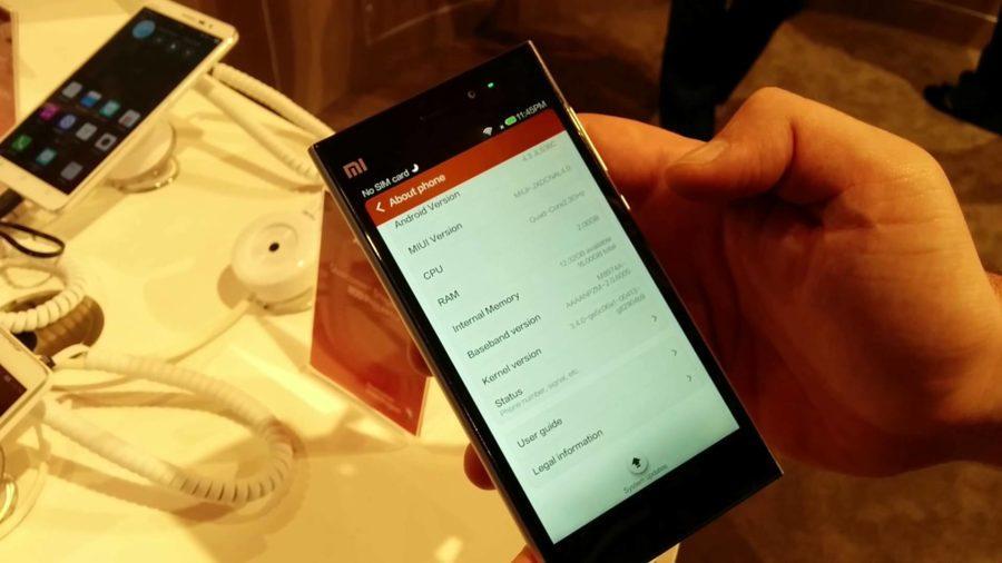 Xiaomi MI3 u rukama
