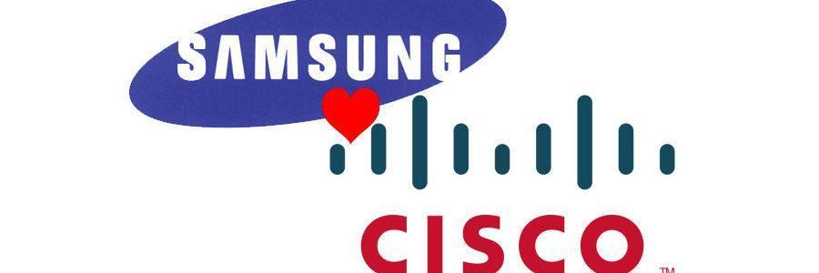 Kompanije Cisco i Samsung Electronics sklopile su sporazum o kros-licenciranju patenata