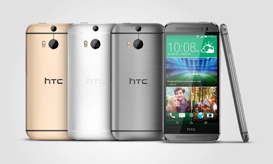 HTC One M8_Gunmetal_Silver_Gold