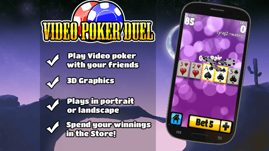 Video Poker Duel za Android