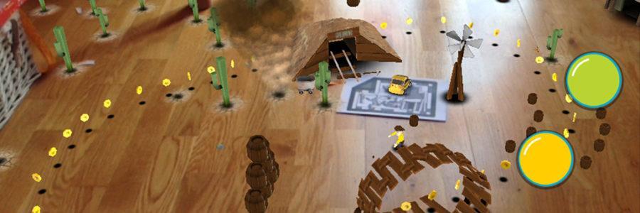 Augmentovana realnost igra