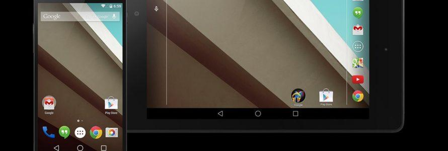 Download Nexus 5 Android L Developer preview